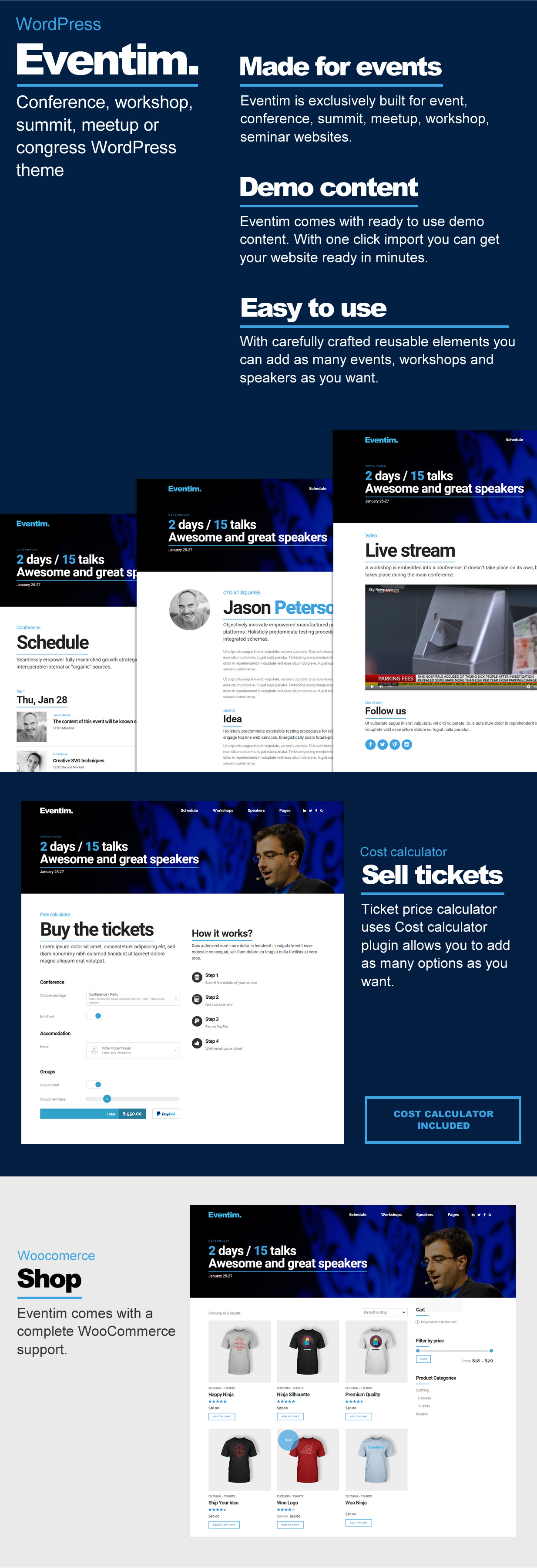Eventim - Conference & Events Theme - 2